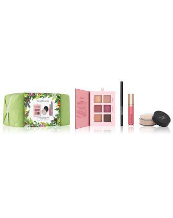 4-Piece Vegan Makeup Set + Bag